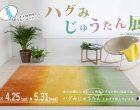 ハグみじゅうたん展 in岡山を開催しています。